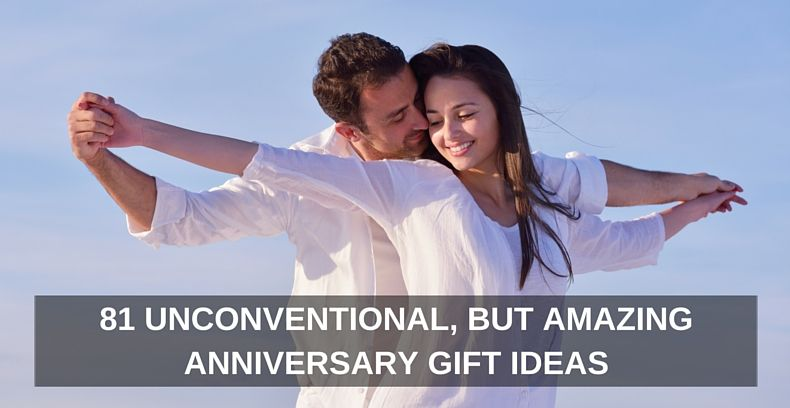 81 unconventional but amazing anniversary gift ideas