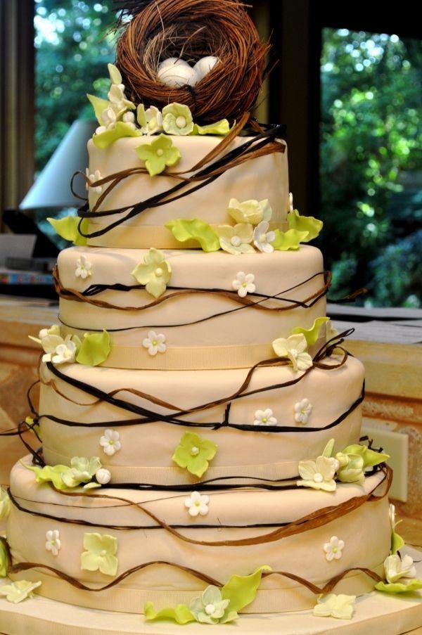 Rustic Wedding Cake | Final countdown to wedding | Pinterest ...
