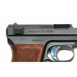 Lot 830 - Mauser - 1914 - 7 65mm/ 32 ACP - pistol   (Auto