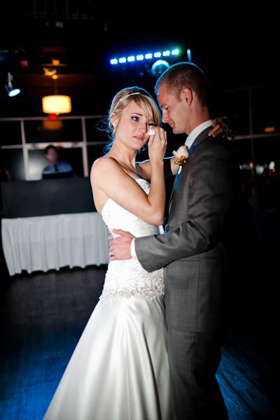 Bride Crying During Last Song Dance With Groom