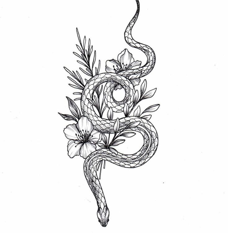 Tattoo sketch for girls