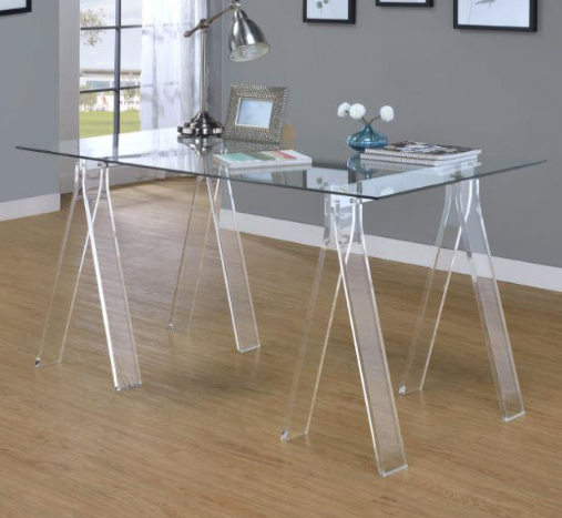 All Clear Desk With Images Clear Desk Home Decor Desk