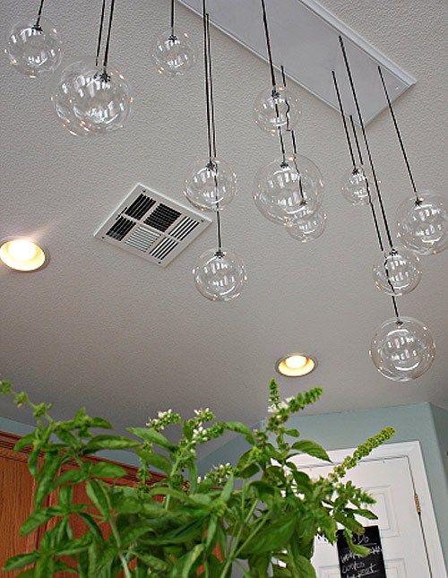 10 Focos led para lamparas colgantes