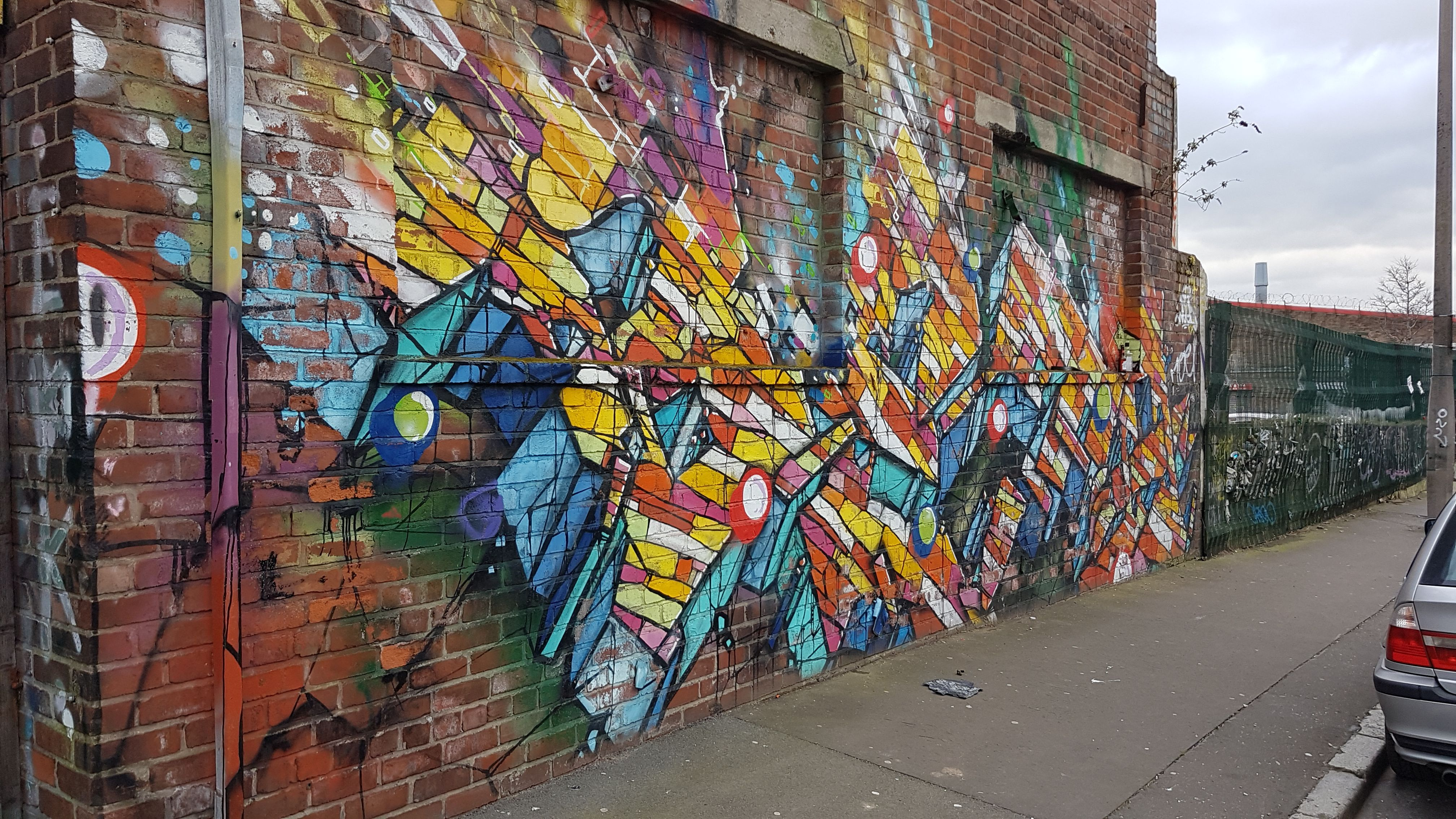 Graffiti wall art liverpool baltic triangle baltic triangle
