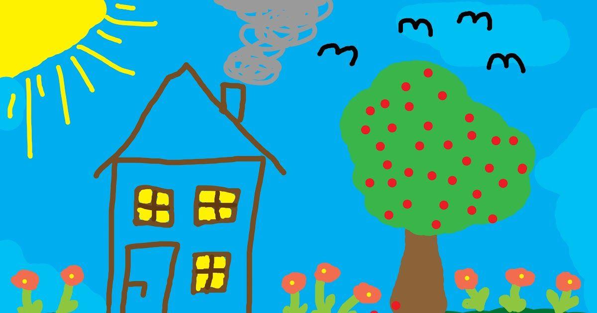 Gambar Mewarnai Sekolnhjkhjkah Dengan Gambar Warna Sekolah