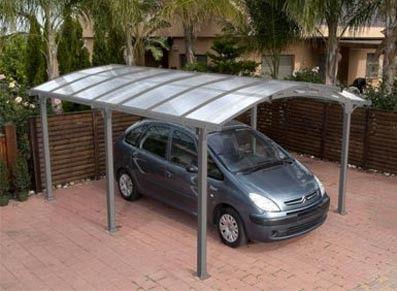 carport metal toit berceau l abri