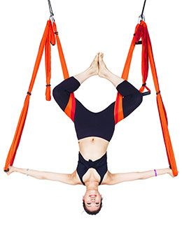 yoga hip  shoulder opener exercises w/ the yoga trapeze