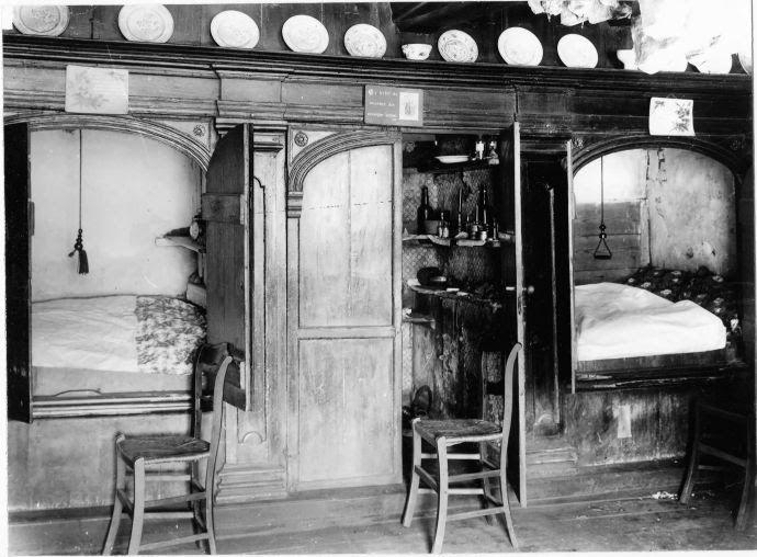 Bedstedes boerderij historisch interieur pinterest for Interieur 1900