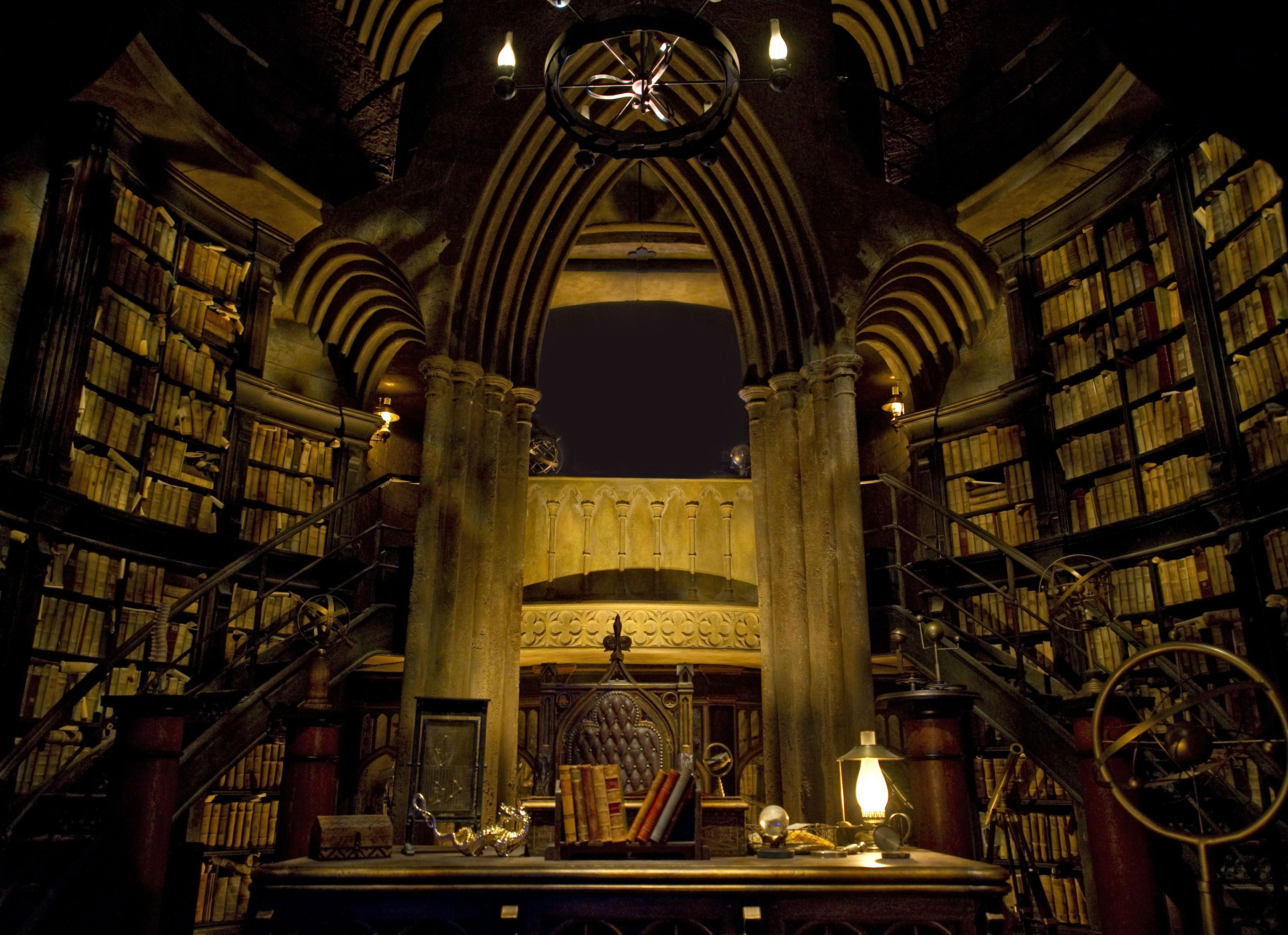Charming Harry Potter · Dumbledoreu0027s Office Library #universal #studios #orlando