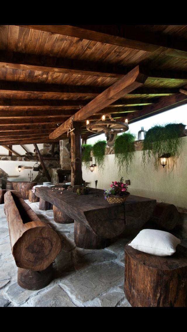 Outdoor furniture Décoration intérieure Pinterest Table de
