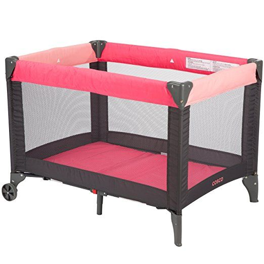 Amazon.com : Cosco Funsport Play Yard, Colorblock Surf The Web : Baby
