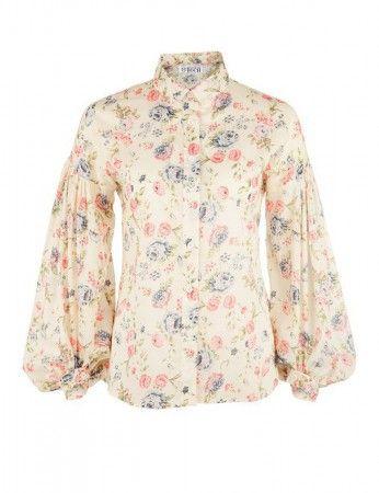 #Blumen #Bluse by Brigitte von Boch #bevonboch