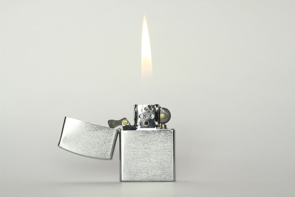 New free stock photo of silver flame lighter   Download it on Pexels