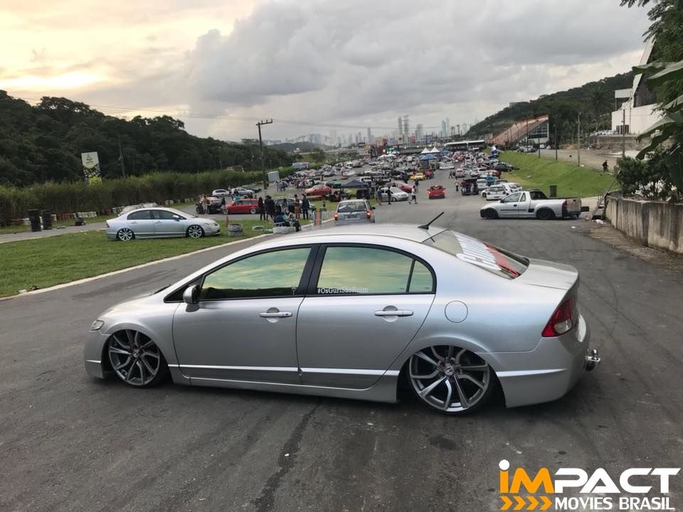 New Civic Rebaixado Com Rodas Honda Civic Type R Aro 20 Carros
