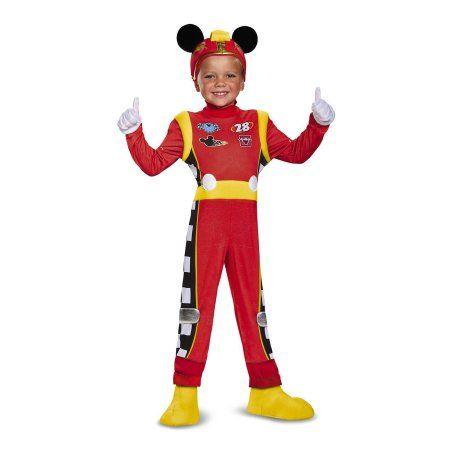 Mickey Roadster Deluxe Child Costume, Boy\u0027s, Size 4-6, Multicolor - womens halloween ideas