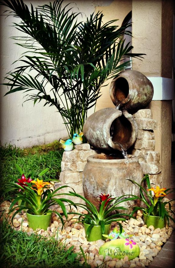 Placing A Feng Shui Water Fountain In Front Of A House Is