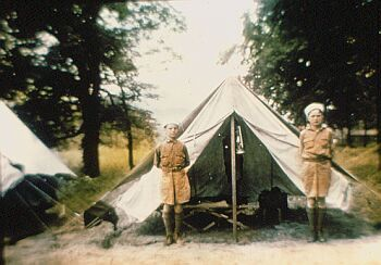 Old boy scout tent pic. & Old boy scout tent pic. | Camping | Pinterest | Tents