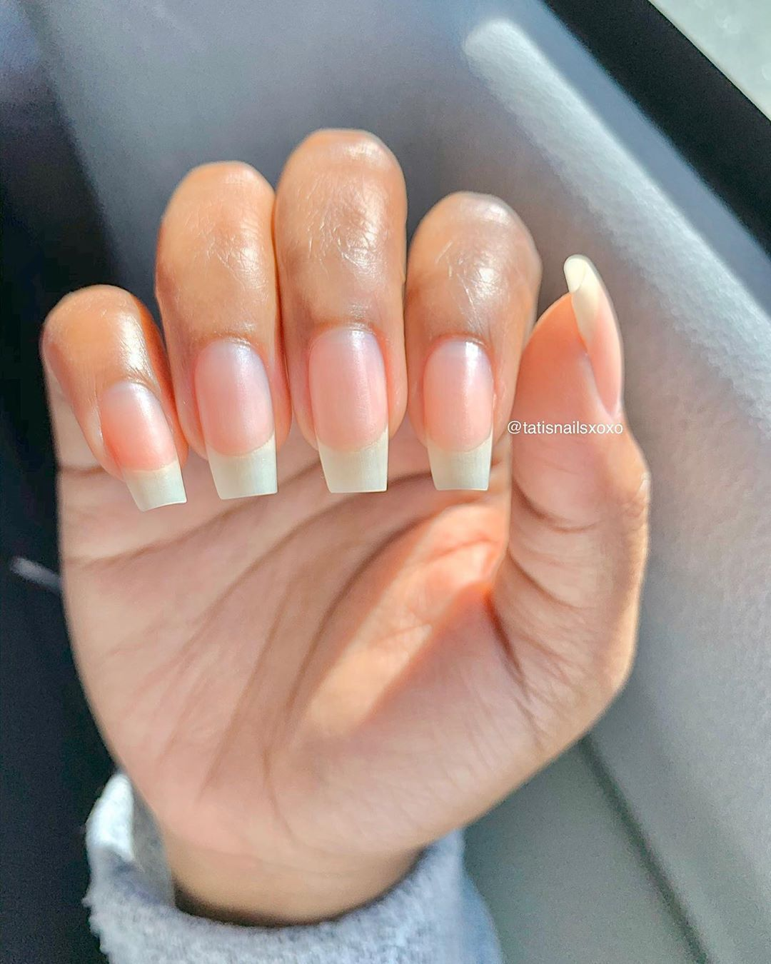 Tati S Nails Xoxo Llc On Instagram Comment And Ask Me Any Nail Question You Want I Get Aske In 2020 Natural Nails Manicure Long Natural Nails Natural Nails