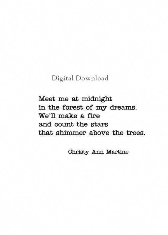 poems about online dating