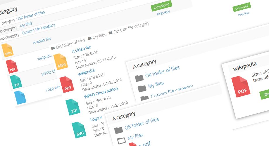 WP File Download - Best Responsive WordPress File Manager