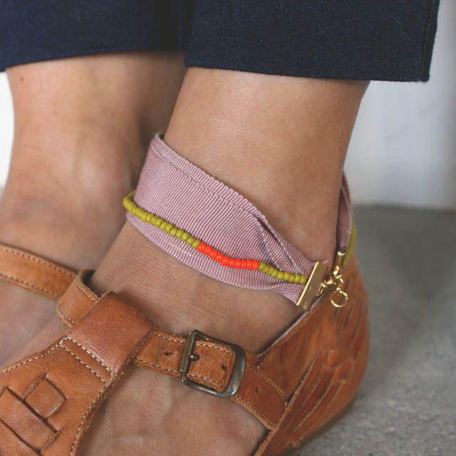 Ribbon Anklet