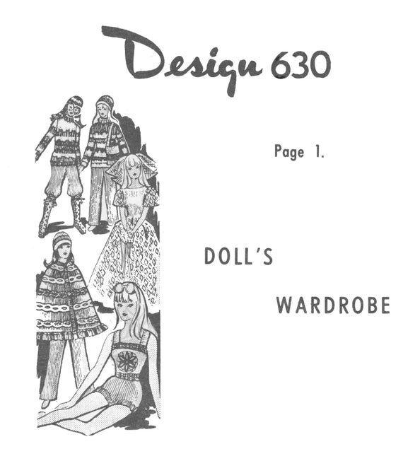 PDF Vintage Mail Order Barbie or 11 1/2