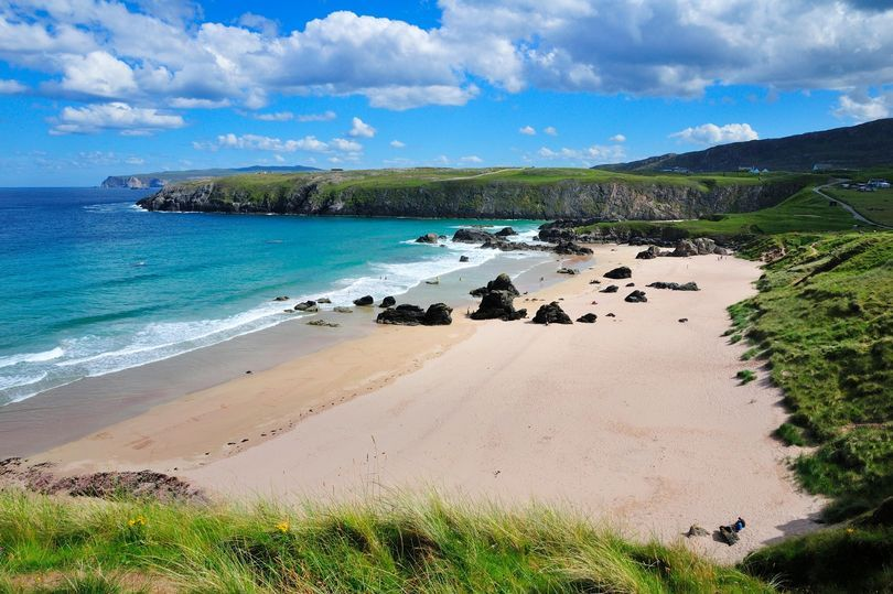 Credits Alamy Top Ten Best Beaches In Scotland 4 Sango Bay Durness With Its Sand Dunes Rocks And Turquoise Waters Not To Mention A Surrounding