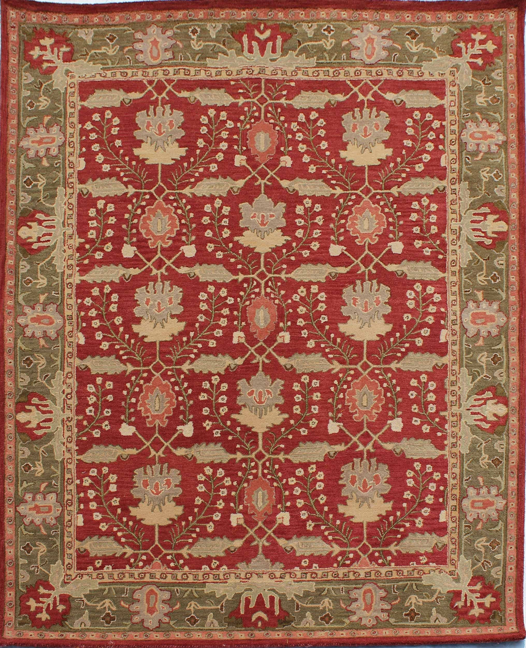 Rugsville Frankilin Arts Crafts Rug 11730 Buy Area Rugs Craftsman Rugs Arts Crafts Style