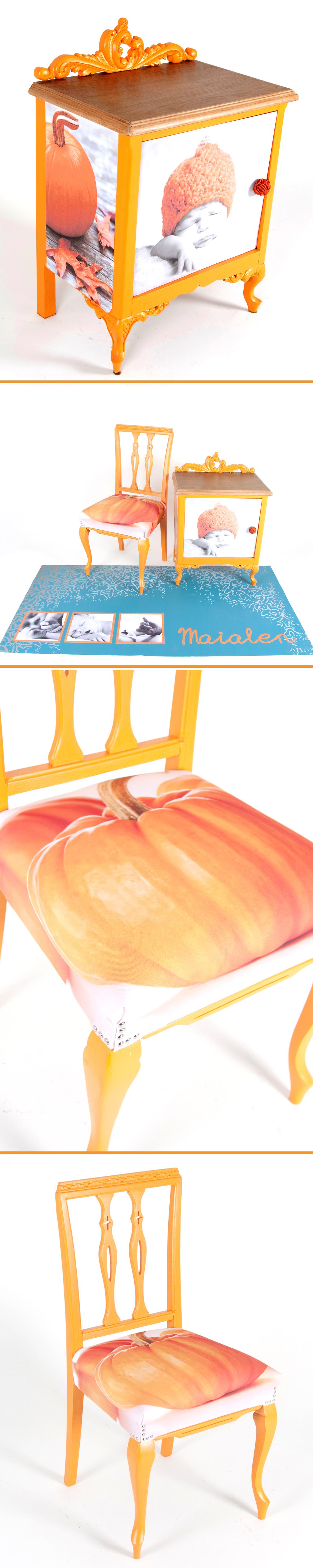 Reciclaje De Mobiliario Lijado Pintado Y Encerado Para La Mesita  # Muebles Lijados Y Pintados