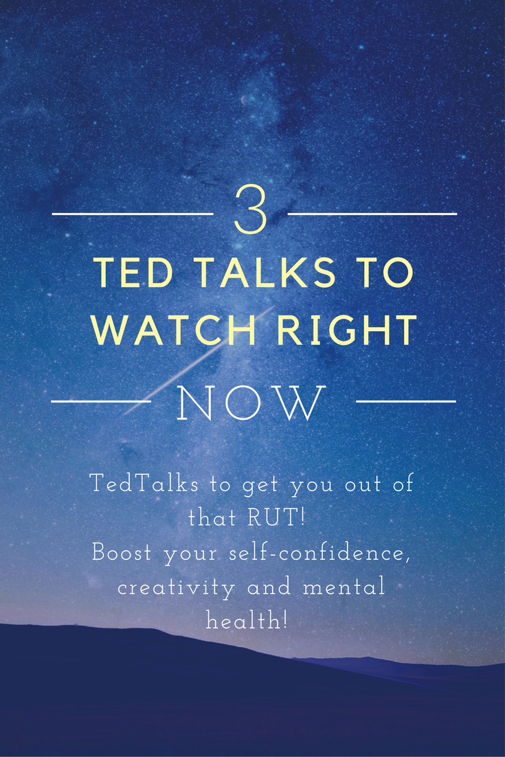 how to get to ted talks