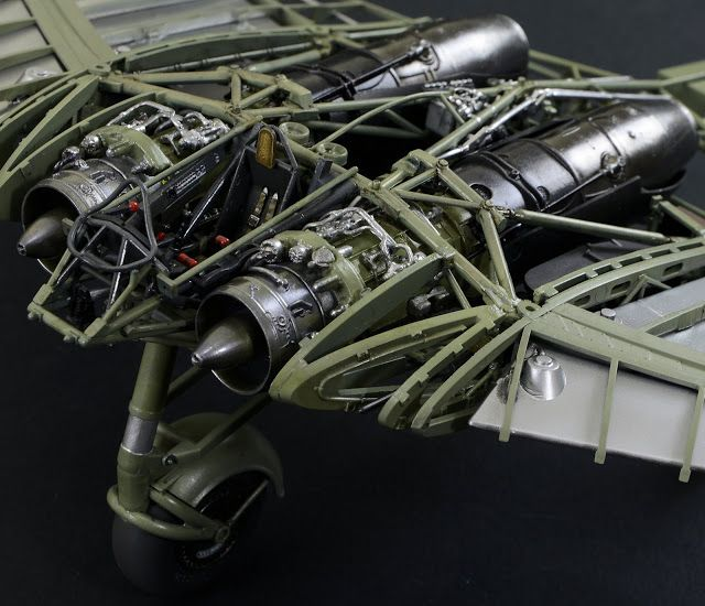 The Modelling News: Review build Pt V: Zoukei-Mura's Horten Ho 229 - the Horten with no clothes…