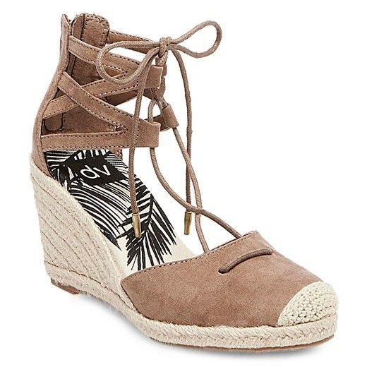 d40d7d5355d Women's dv Manica Ghillie Espadrille Wedge Sandals - Taupe 8.5 ...
