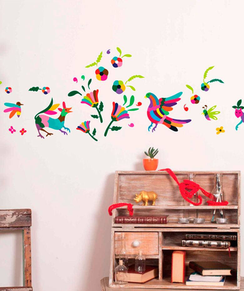 Vinilo alebrijes vinilo adhesivo decoraci n de paredes for Decoracion paredes vinilos adhesivos