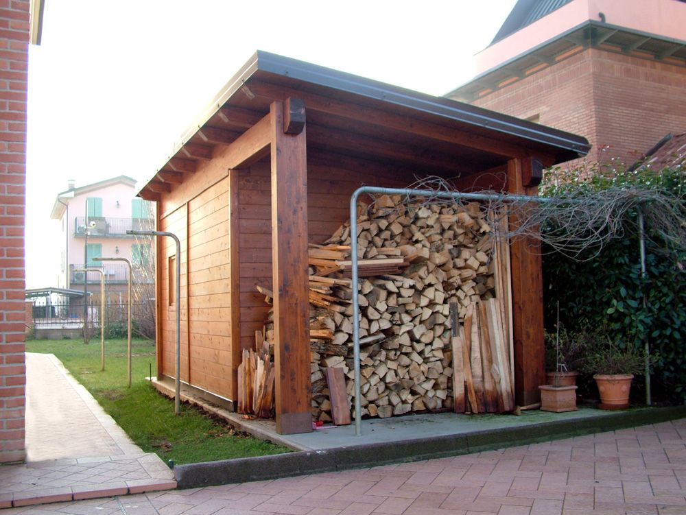 Casetta ad una falda linea classica dimensioni cm 300 x for Planimetrie semplici della casetta di legno