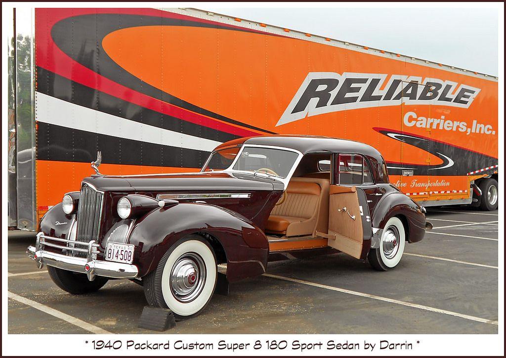 1940 Packard Super 8 180 Sport Sedan by Darrin   Sports sedan ...