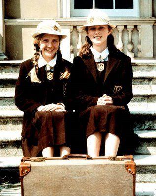Vintage British School Girl 'vintage british schoolgirl'