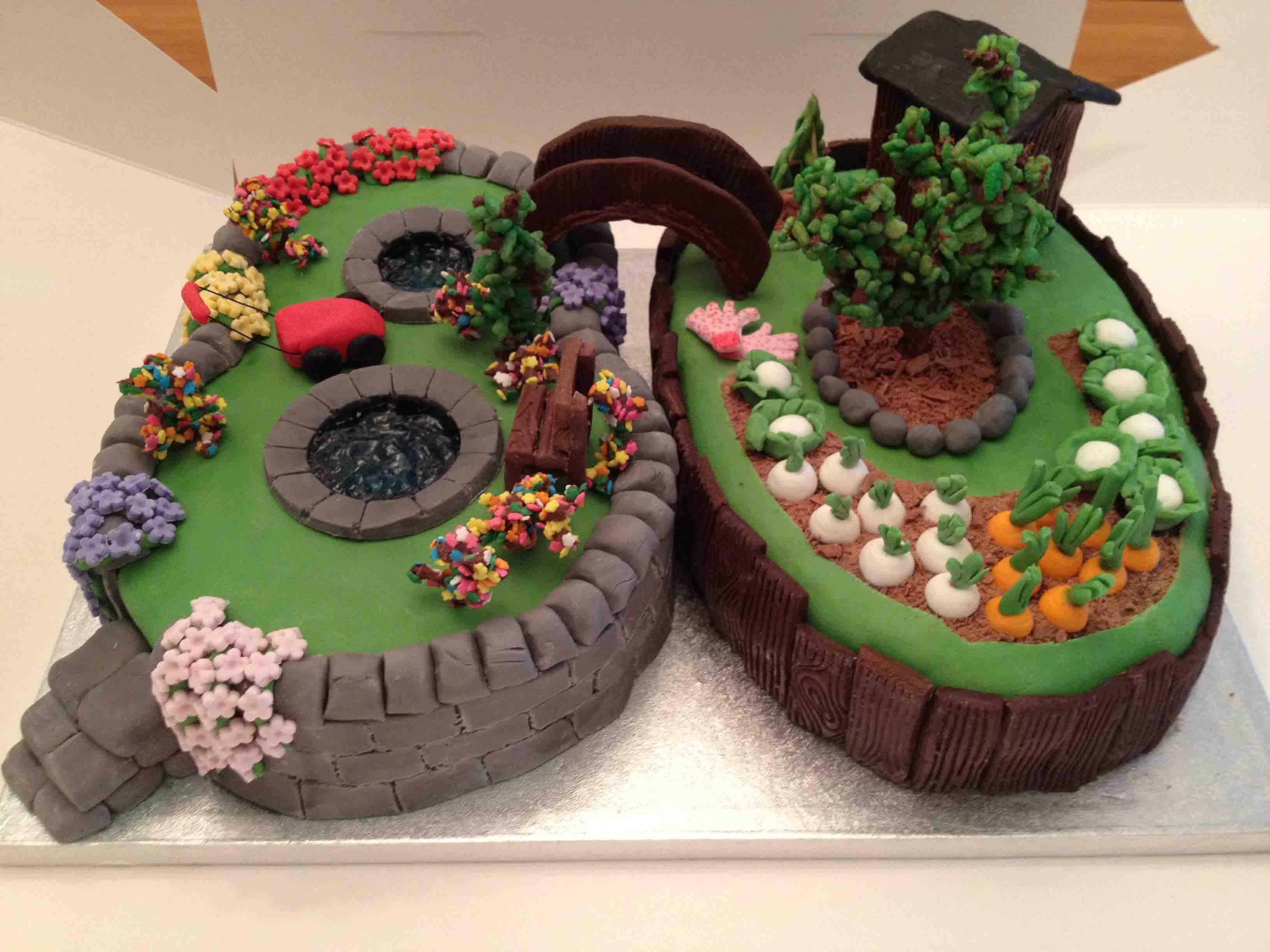 garden cakes - Google Search   Gardening Cakes   Pinterest ...