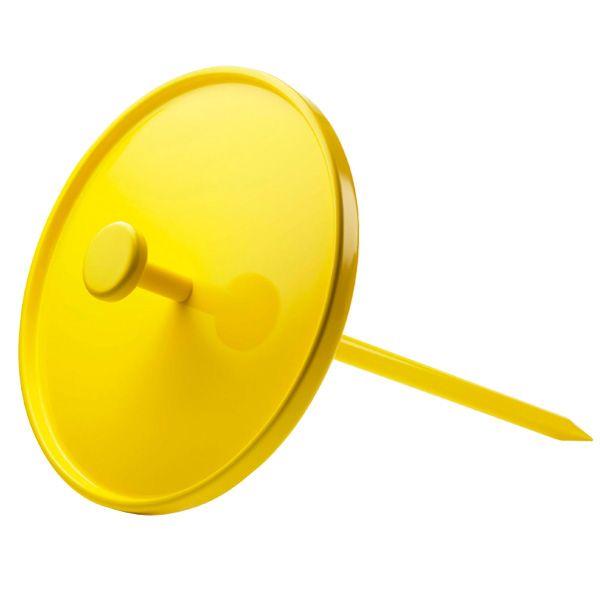 mi piace un sacco!    Tavolo Pin, giallo neon