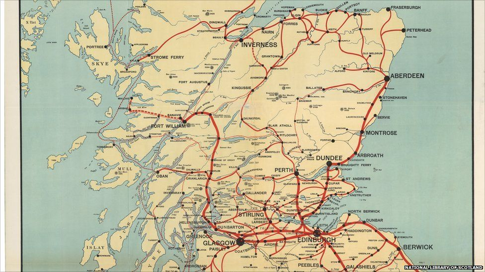 In Pictures: Scotland On The Map