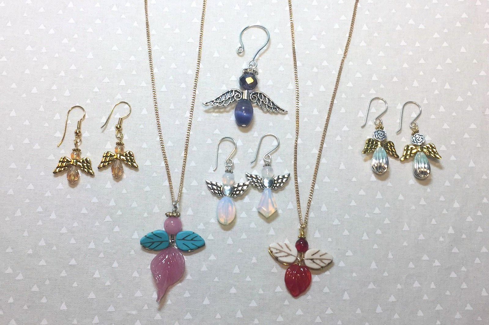 Bead Angel Earrings, Charm and Holiday Ornament Tutorial | Pinterest ...