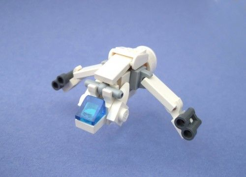 Microscale Lego Starships