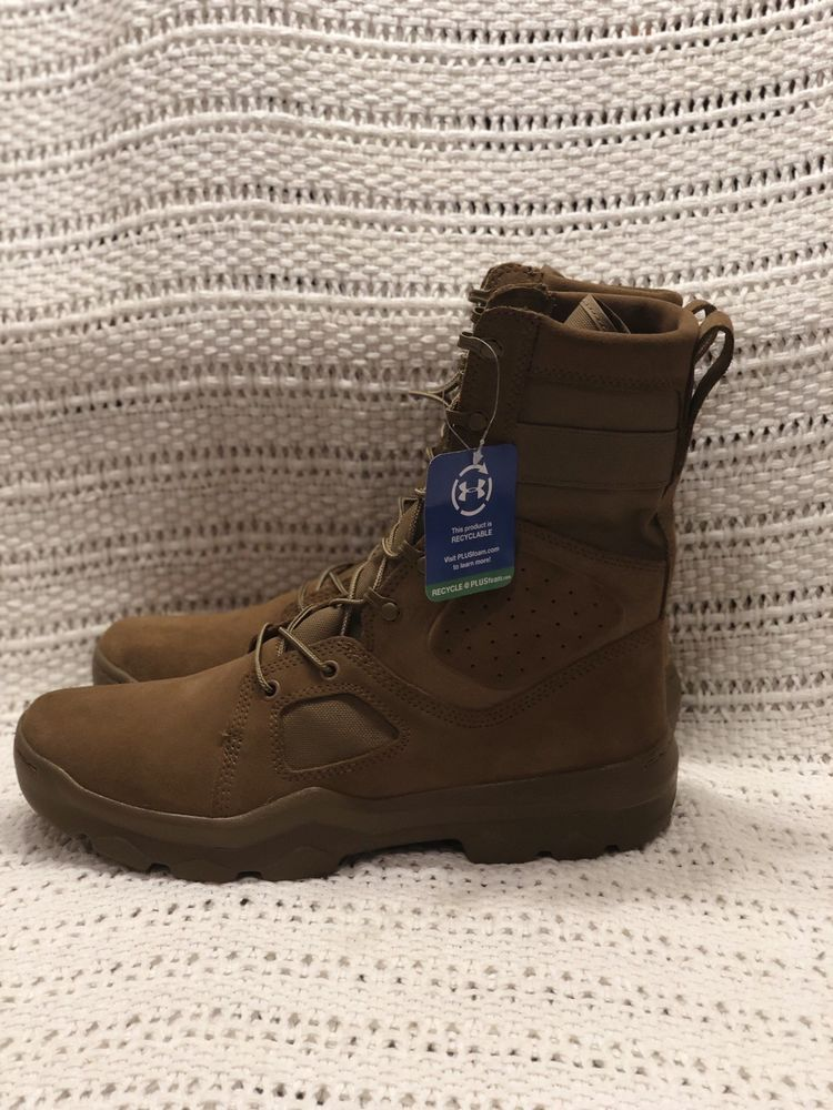 Amazon Com Under Armour Men S Jungle Rat Military And Tactical Boot 220 Coyote Brown 10 5 Shoes Tactical Boots Military Tactical Boots Boots