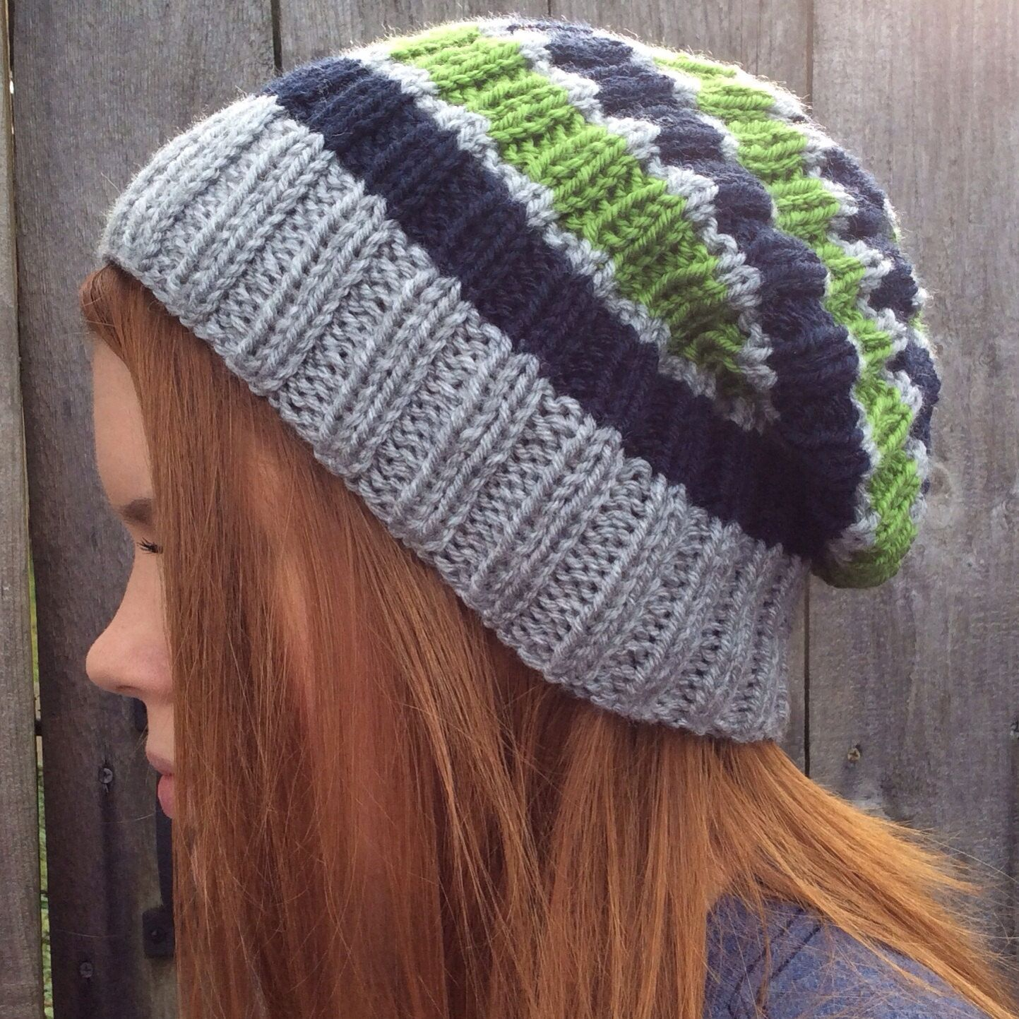 Knitted Seahawks Hat by Littlebitofknit on Etsy 31c311bf7