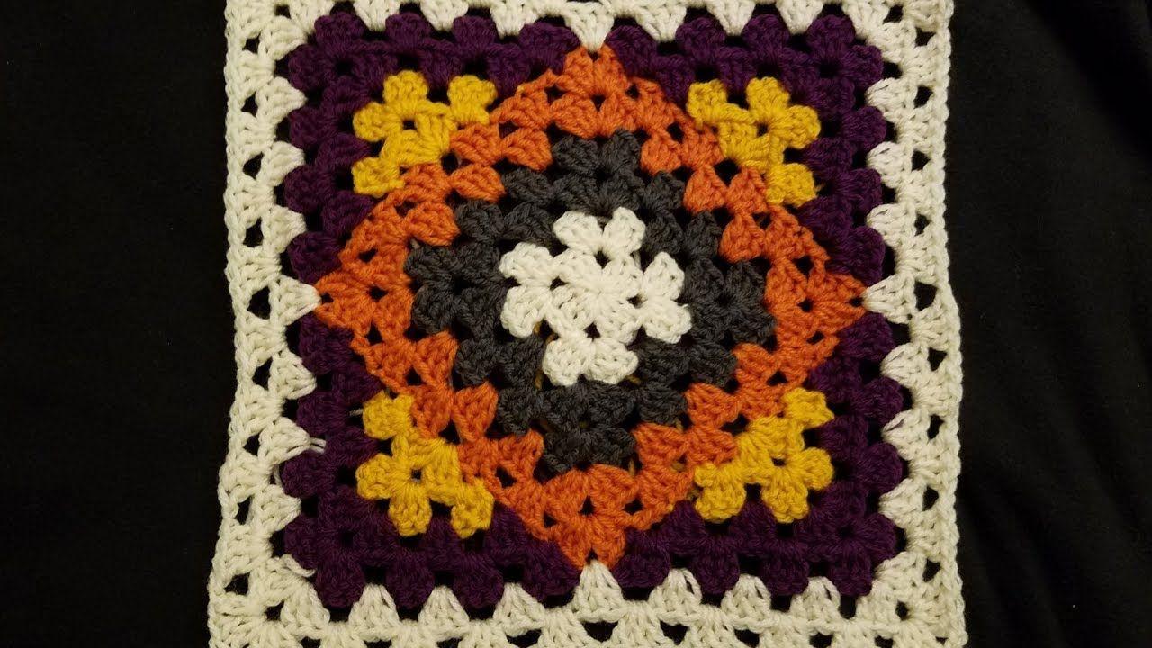 Kaleidoscope Granny Blanket Crochet Along (pt 1) | CROCHET I LIKE ...