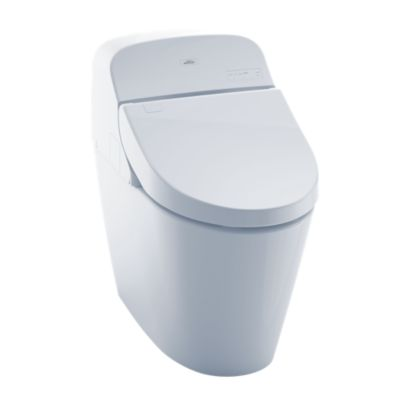 The Washlet G400 Features An Integrated Toilet And A Convenient