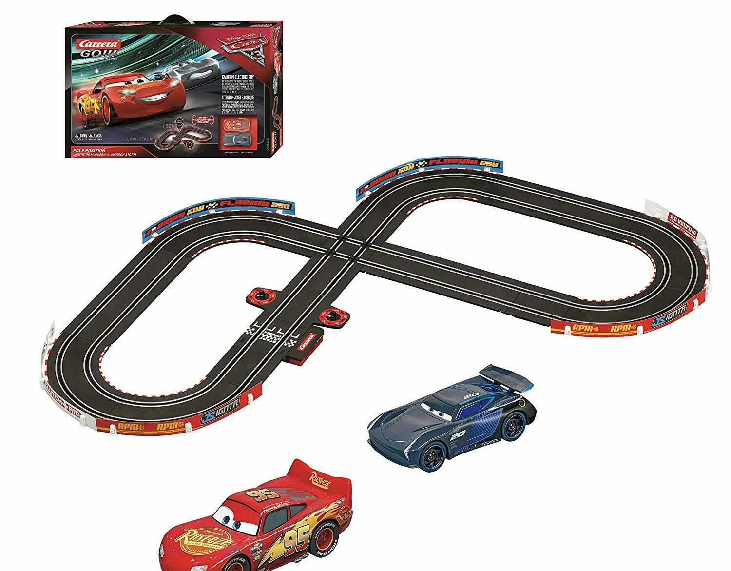 The Disney Pixar Cars 3 Slot Car Track Is Sturdy And Easier To Tug