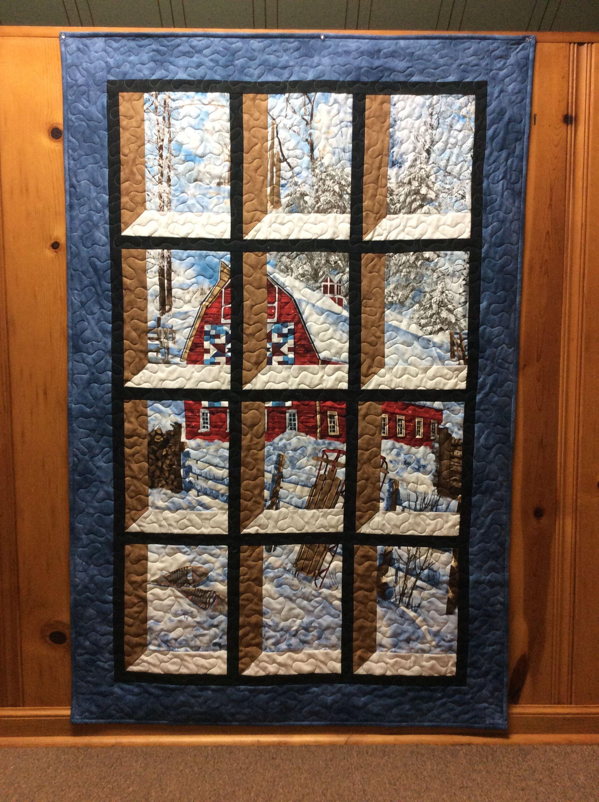 Christmas Attic Window Quilt Pattern.Attic Window Quilt Barn Quilt My Quilt Projects Attic