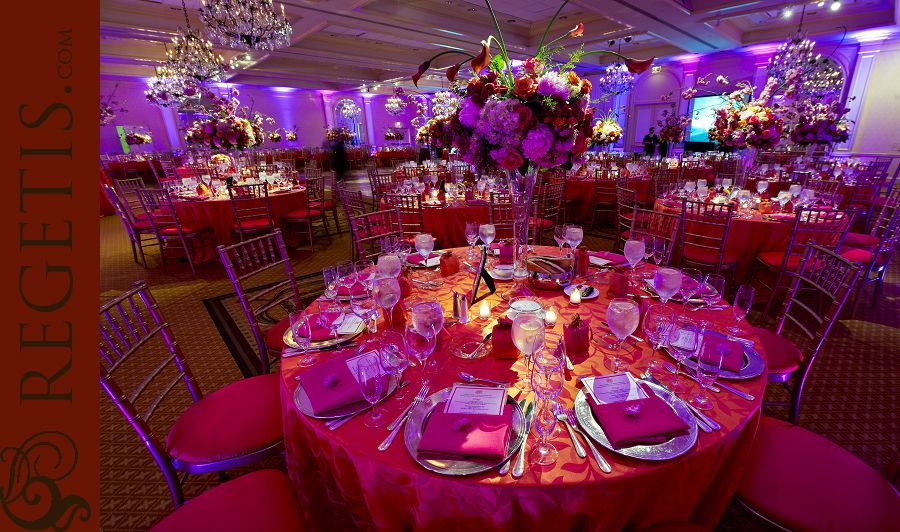 Real Wedding Bright Modern Indian Reception At Fairmont Dc