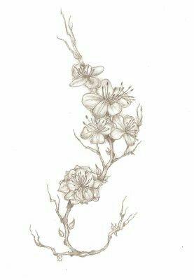 Fleurs Noir Et Blanc Tatouage Dessin Tatouage Tatouage