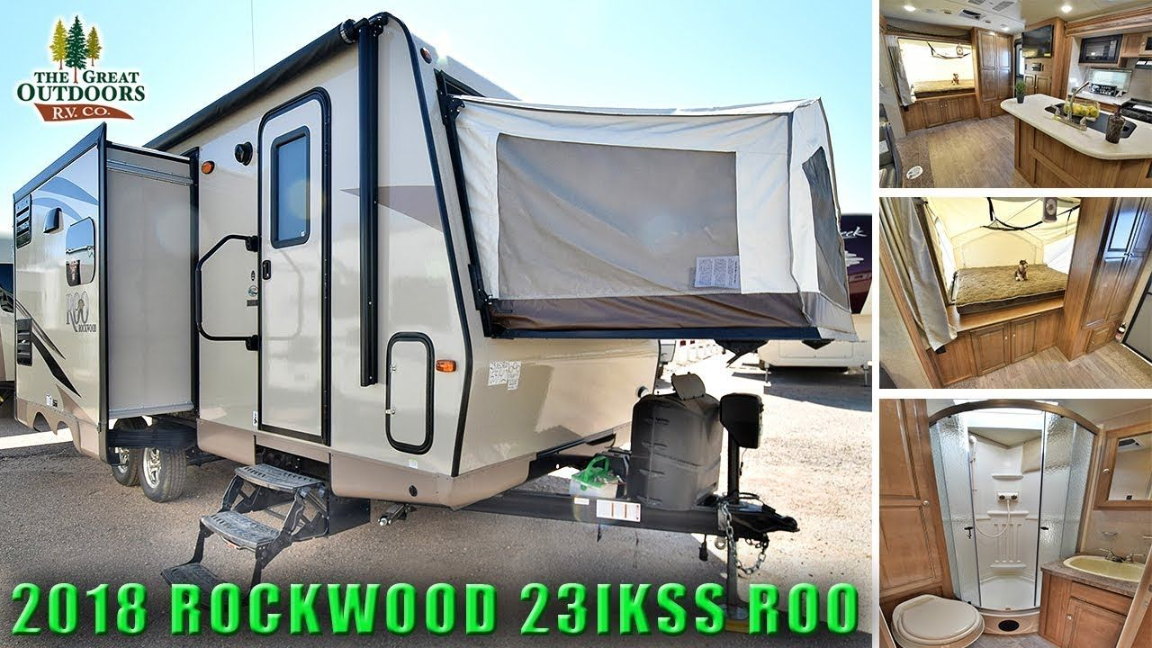 New 2018 Rockwood 23ikss Roo Hybrid Expandable Pop Out Colorado